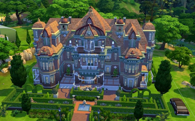 Sims 4 COLETTE Chateau at JarkaD Sims 4 Blog
