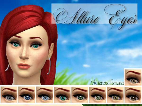 Allure Eyes by fortunecookie1 at The Sims Resource image 1631 Sims 4 Updates