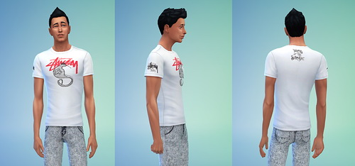 Male Top Set 1 at Sims 4 Sweetshop image 1646 Sims 4 Updates