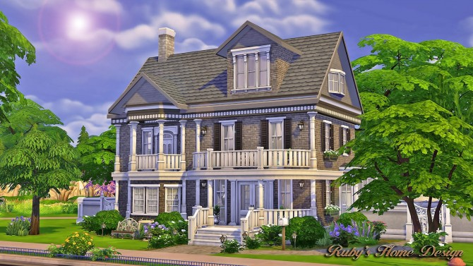 The Chocolate House At Ruby'S Home Design » Sims 4 Updates