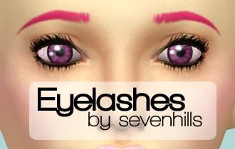 Sims 4 Set of eyelashes at Sevenhills Sims