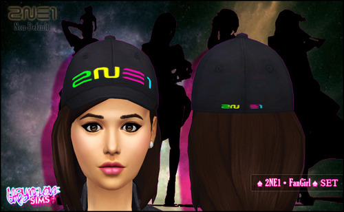 2in1 FanGirl Set at Gabymelove Sims image 172 Sims 4 Updates