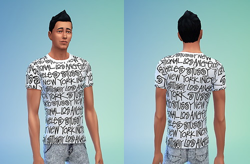 Sims 4 Male Top Set 1 at Sims 4 Sweetshop