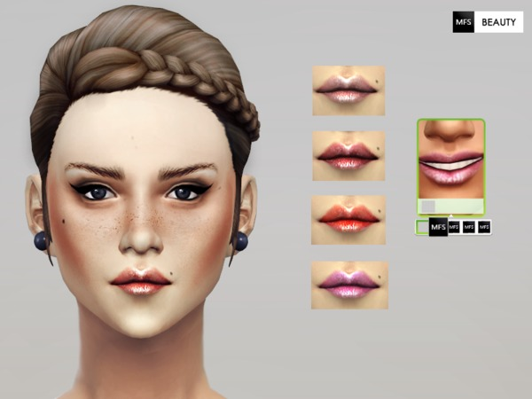 Fairy Dust Lipstick by MissFortune at The Sims Resource image 1820 Sims 4 Updates
