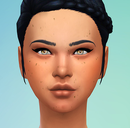 Sims 4 Random Freckles at Seventhecho