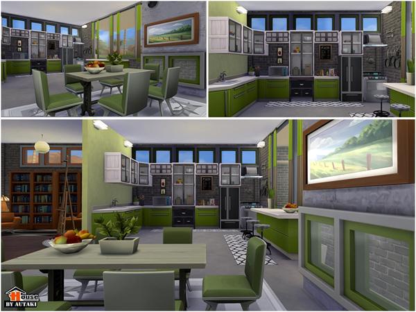 Uganda Modern Design house by autaki at TSR image 2052 Sims 4 Updates