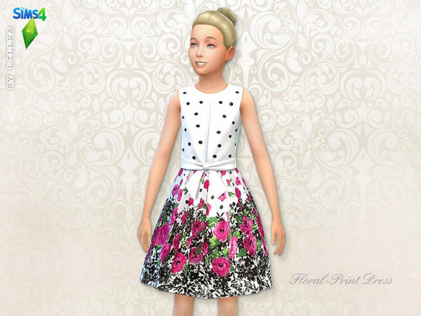 Floral Dresses Set at The Sims Resource image 2122 Sims 4 Updates