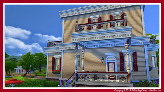 The Rouge house at Harley Quinn's Nuthouse image 2133 Sims 4 Updates