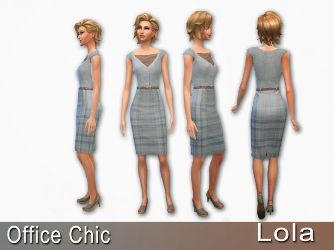 Sims 4 Clothes recolours by Lola at Sims and Just Stuff