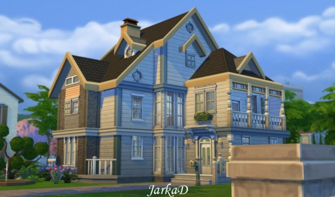 Sims 4 Family House No.1 at JarkaD Sims 4 Blog