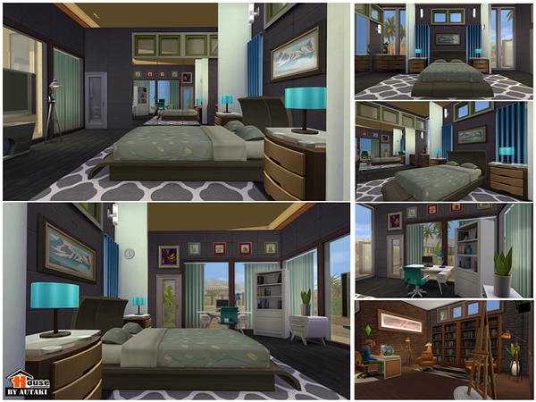 Uganda Modern Design house by autaki at TSR image 2179 Sims 4 Updates