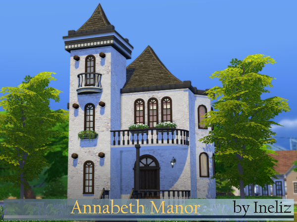 Annabeth Manor by Ineliz at The Sims Resource image 2213 Sims 4 Updates