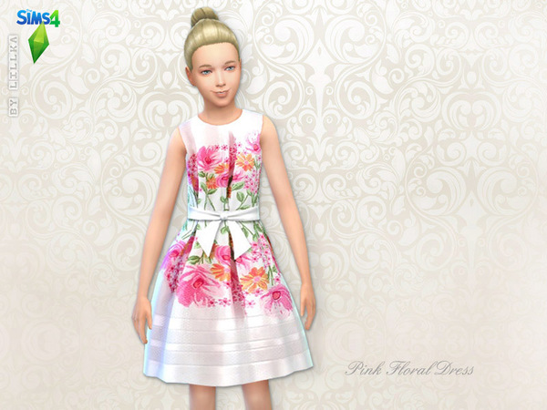 Floral Dresses Set at The Sims Resource image 2219 Sims 4 Updates