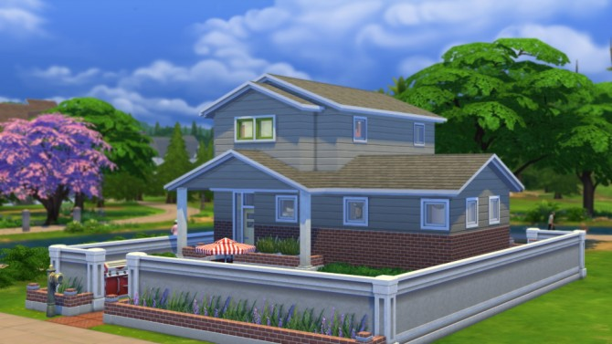 Sims 4 10 River Road house by Veronica Greeley at SIMple Realty
