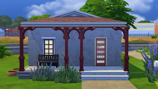 Sims 4 50 Avenue lot by Veronica Greeley at SIMple Realty