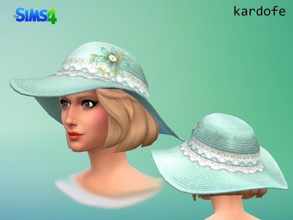 Sun hat by Kardofe at TSR image 2332 Sims 4 Updates