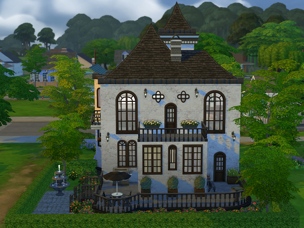 Sims 4 Annabeth Manor by Ineliz at The Sims Resource