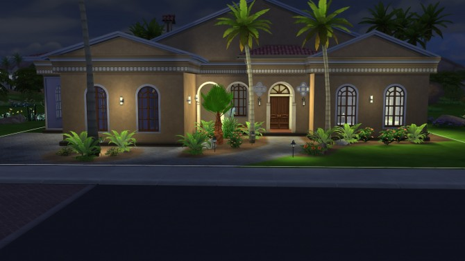Desert Oasis house by chrisb75 at Mod The Sims image 2416 Sims 4 Updates