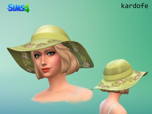Sun hat by Kardofe at TSR image 2431 Sims 4 Updates