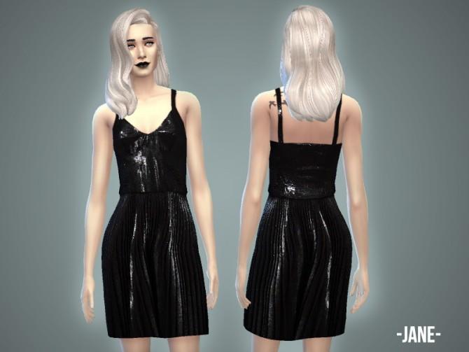Jane dress at April Simbling image 2448 Sims 4 Updates