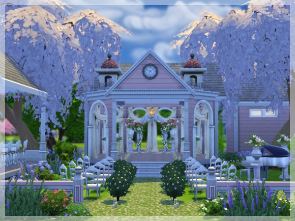 Perfect Wedding Venue By Arelien At The Sims Resource