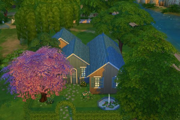Anna house by KatjaK at Blacky's Sims Zoo image 2511 Sims 4 Updates
