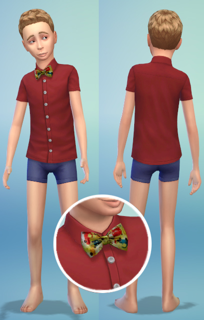 Kids overall and other clothes by bienchen83 at Sim2me » Sims 4 ...
