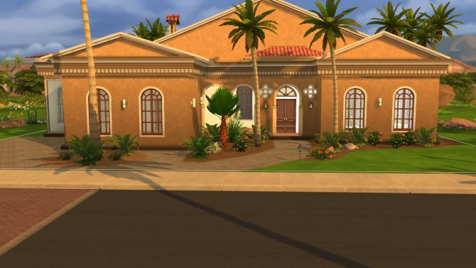Desert Oasis house by chrisb75 at Mod The Sims image 2515 Sims 4 Updates