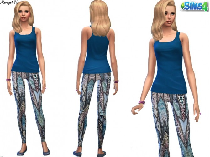 Coloured Leggings by Margies Sims at Sims 3 Addictions image 253 Sims 4 Updates