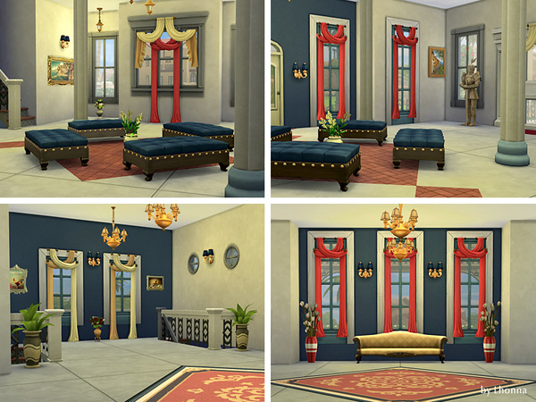 Sims 4 Museum Of Classical Art by Lhonna at TSR