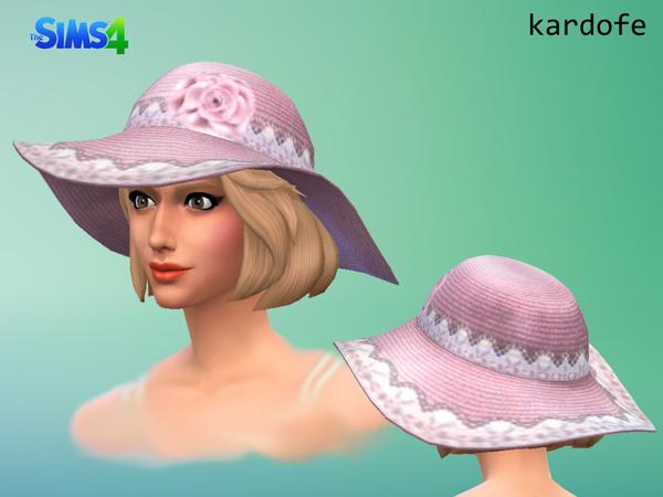 Sun hat by Kardofe at TSR image 2533 Sims 4 Updates
