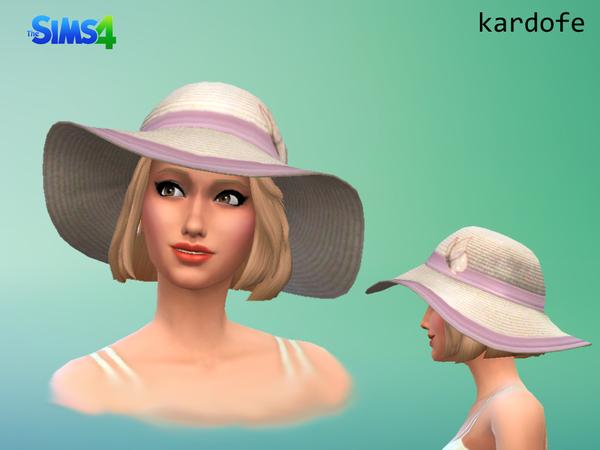 Sun hat by Kardofe at TSR image 2630 Sims 4 Updates