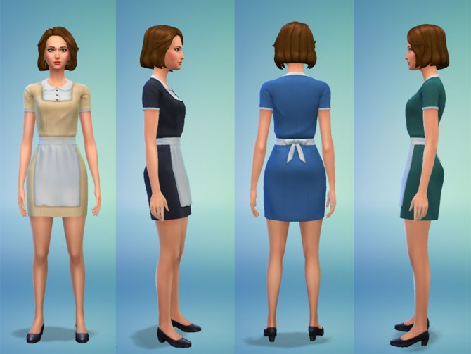 Maid Outfit By Snaitf At Mod The Sims 187 Sims 4 Updates