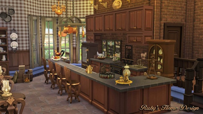 290 for Sims 4 kitchen designs