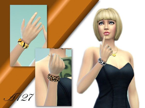 Sims 4 Bracelet set by Altea127 at The Sims Resource