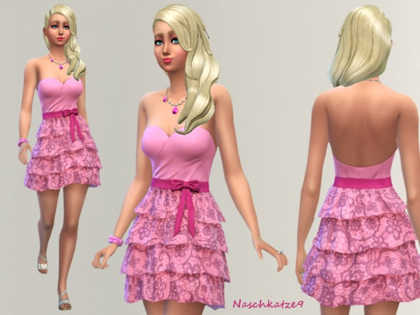 A Dream of Lace and Pink by naschkatze9 at TSR image 2928 Sims 4 Updates