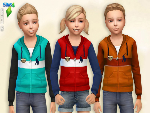 Fleece Hoodie by lillka at TSR image 2930 Sims 4 Updates