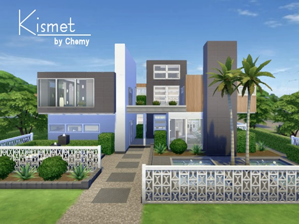 Kismet Modern House By Chemy At TSR Sims 4 Updates