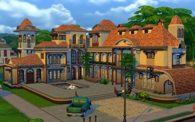 Austin Mansion at JarkaD Sims 4 Blog image 2937 Sims 4 Updates