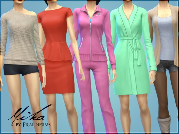 Mika no CC by Pralinesims at TSR image 2940 Sims 4 Updates