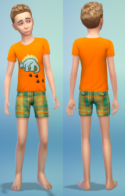 4 new kids clothes by bienchen83 at Sim2me image 3015 Sims 4 Updates