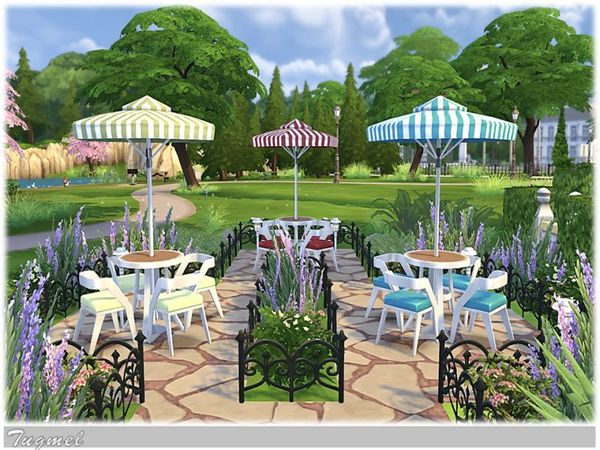 Wedding Place 01 by TugmeL at The Sims Resource image 3017 Sims 4 Updates