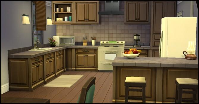 Sims 4 Erics house at Starlight Diner