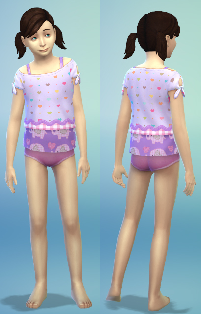 4 new kids clothes by bienchen83 at Sim2me » Sims 4 Updates