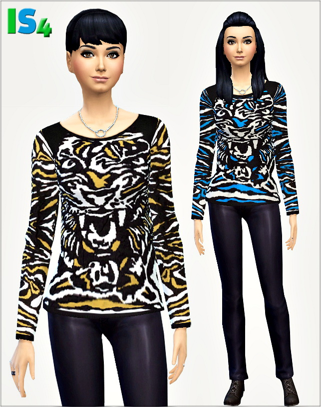 Sims 4 Sweater at Irida Sims