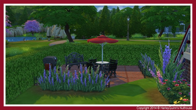 The Rouge house at Harley Quinn's Nuthouse image 3128 Sims 4 Updates