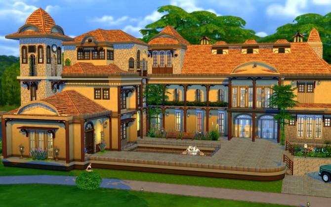 Austin Mansion at JarkaD Sims 4 Blog image 3154 Sims 4 Updates