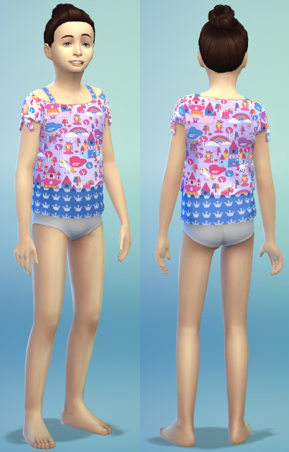 4 new kids clothes by bienchen83 at Sim2me image 3215 Sims 4 Updates