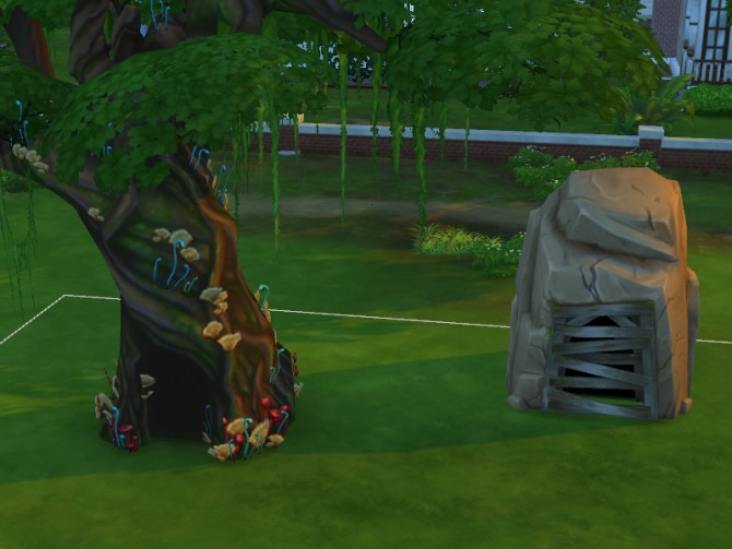 Sims 4 Buyable Hidden Lot Entrances by Snaitf at Mod The Sims