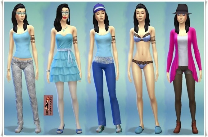 Ming family at Annett's Sims 4 Welt » Sims 4 Updates